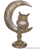 "11.5"" Owl on Moon by Raz Imports"