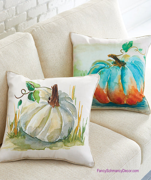 Pumpkin Pillow by Raz Imports