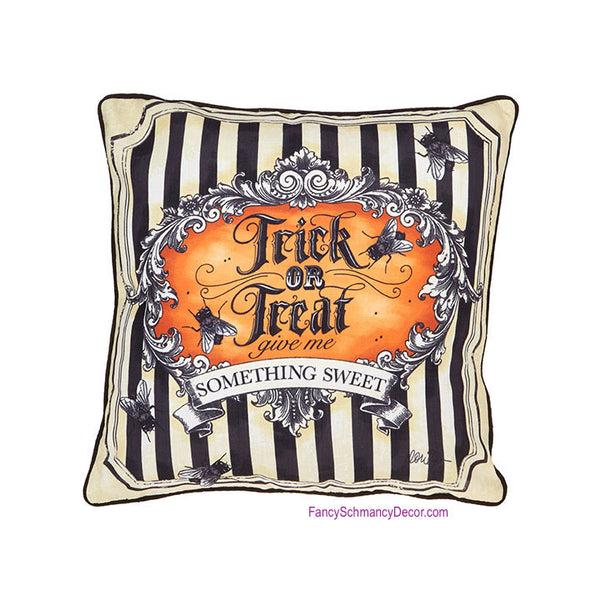 "17"" Trick or Treat Pillow"