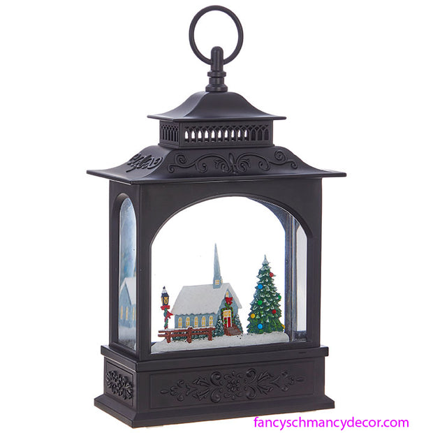 Church Lighted Water Lantern by RAZ Imports
