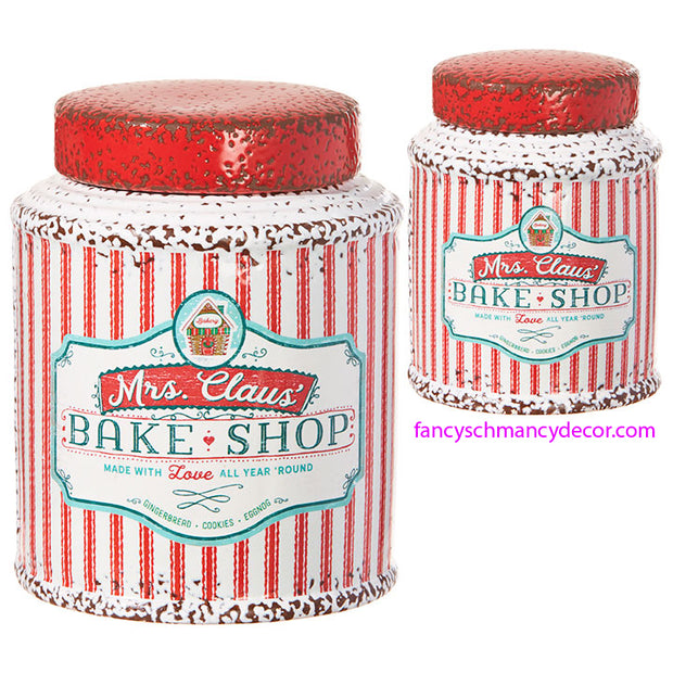 Mrs. Claus' Bake Shop Container by RAZ Imports