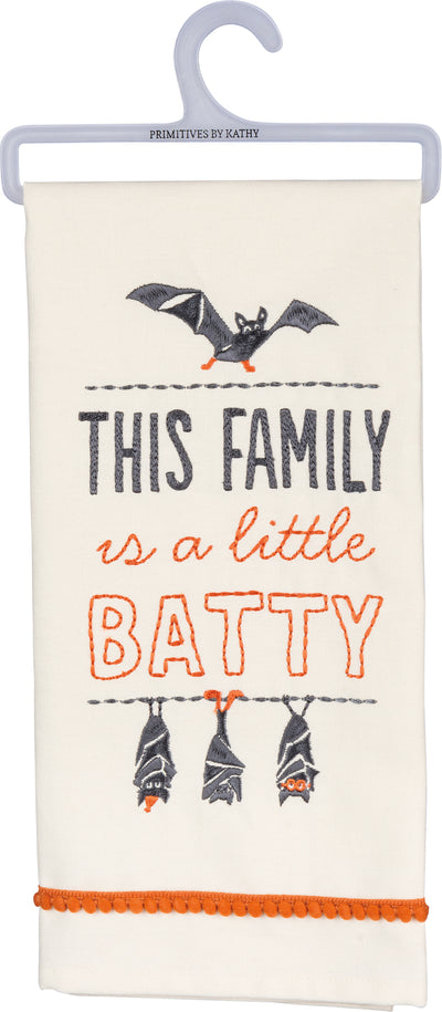 Dish Towel - This Family Is A Little Batty