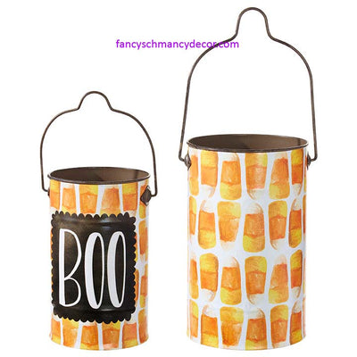 Halloween Buckets Set of 2 by RAZ Imports