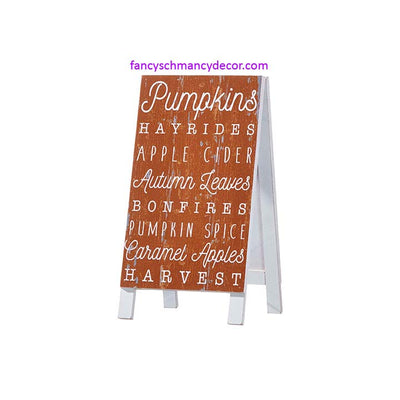 FALL Sandwich Board by RAZ Imports