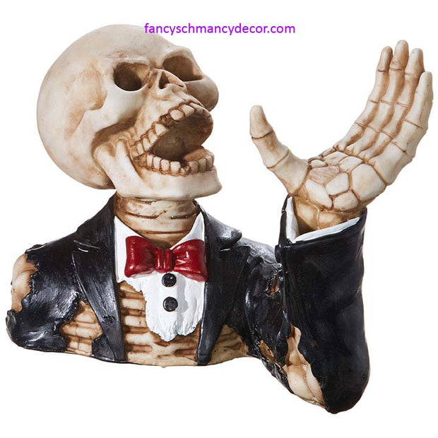 Skeleton Wine Holder by RAZ Imports