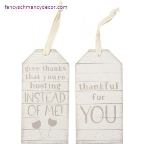 Bottle Tag - Thanks You're Hosting Instead Of Me