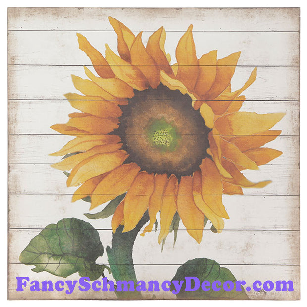 "24"" Sunflower Wall Art by RAZ Imports"