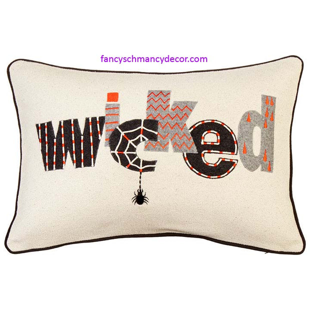 Wicked Pillow by RAZ Imports