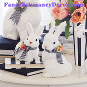 "9.5"" Bunny Couple by RAZ Imports"