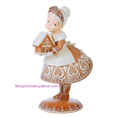 "16.75"" Gingerbread Mrs. Claus by RAZ Imports"