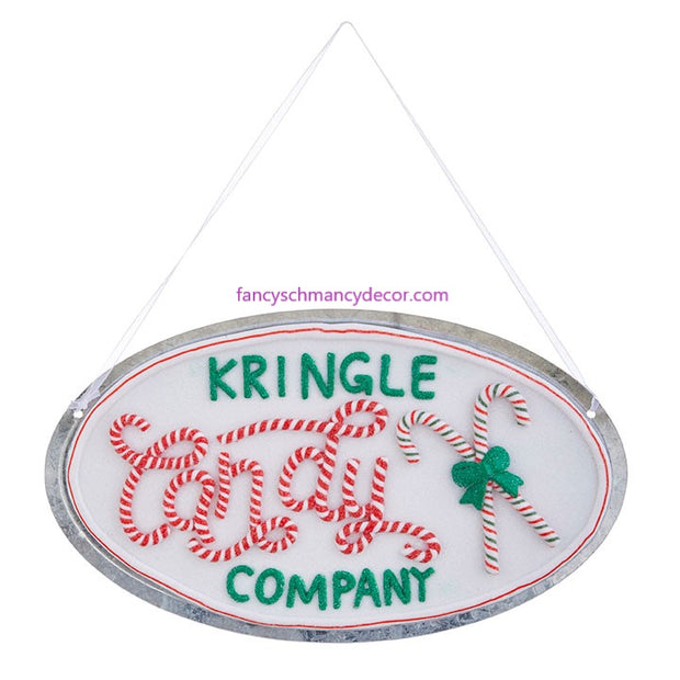 "7"" Kringle Candy Co. Ornament by RAZ Imports"