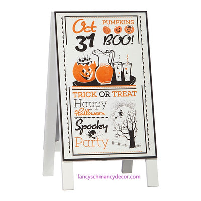 "12.5"" Halloween Party Sandwich Board by RAZ Imports"