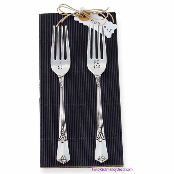 Wedding Cake Forks (Set of 2) by Mud Pie