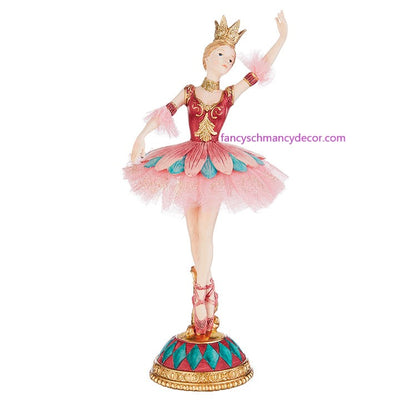 "10.75"" Ballet Sugar Plum Fairy by RAZ Imports"