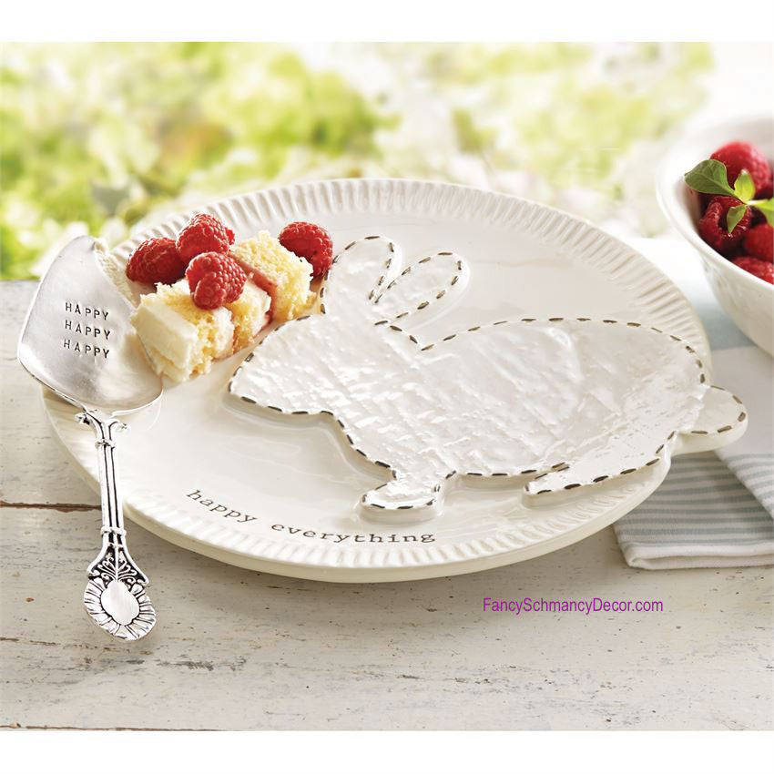 Bunny Dessert Set by Mud Pie