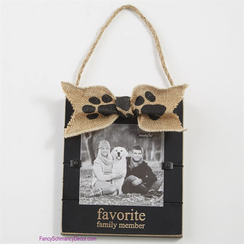Dog Door Hanger Frame by Mud Pie