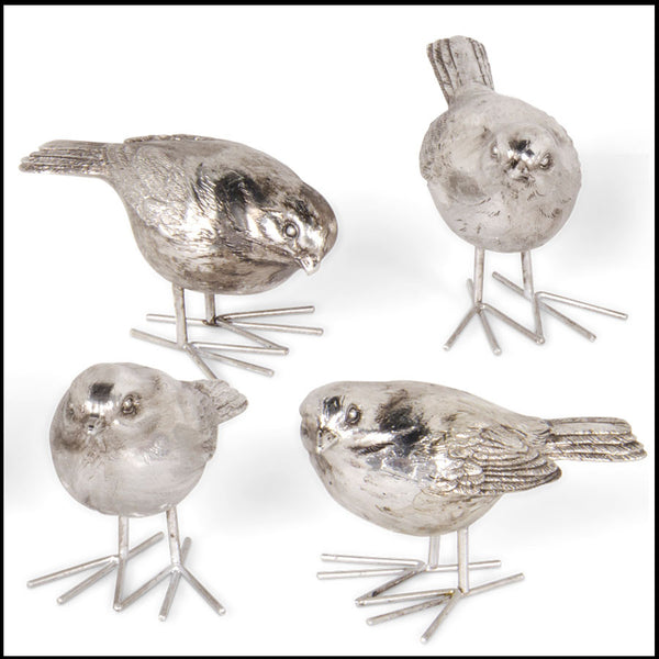 Birds   Antique Silver   FancySchmancyDecor Sold Out. Ku0026K Interiors