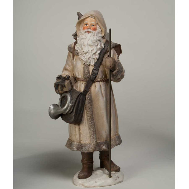 Holiday - Santa Holding Cane - FancySchmancyDecor