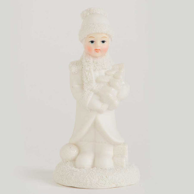Holiday - Boy Holding Tree - FancySchmancyDecor