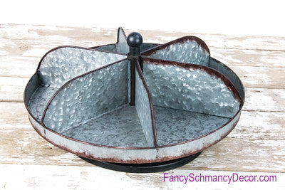 Round Tabletop Metal Lazy Susan