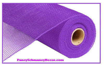 "10"" X 10 yd Purple Mesh"
