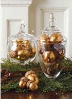 Holiday - Gold Acorn Ornaments - FancySchmancyDecor