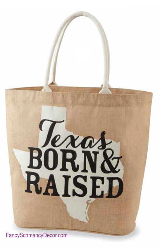 Texas Southern State Tote by Mud Pie - FancySchmancyDecor