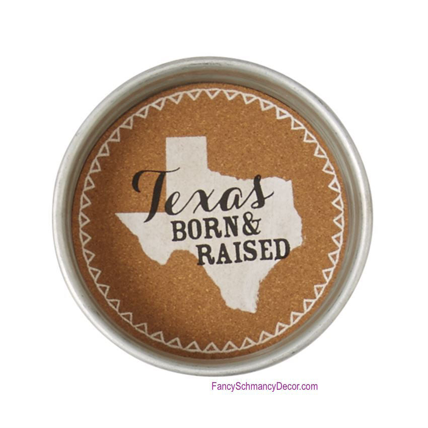 Texas Jar Lid Coasters by Mud Pie - FancySchmancyDecor