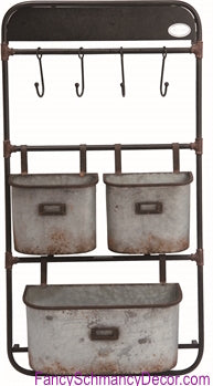 Galvanized Metal Seed Holder