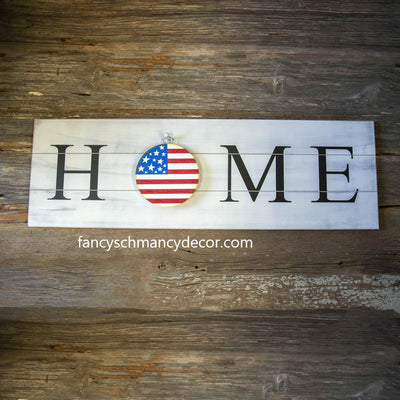 Mini Gallery American Flag Charm by The Round Top Collection
