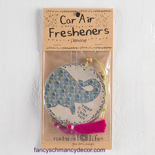 Lucky Day Elephant Air Freshener by Natural Life
