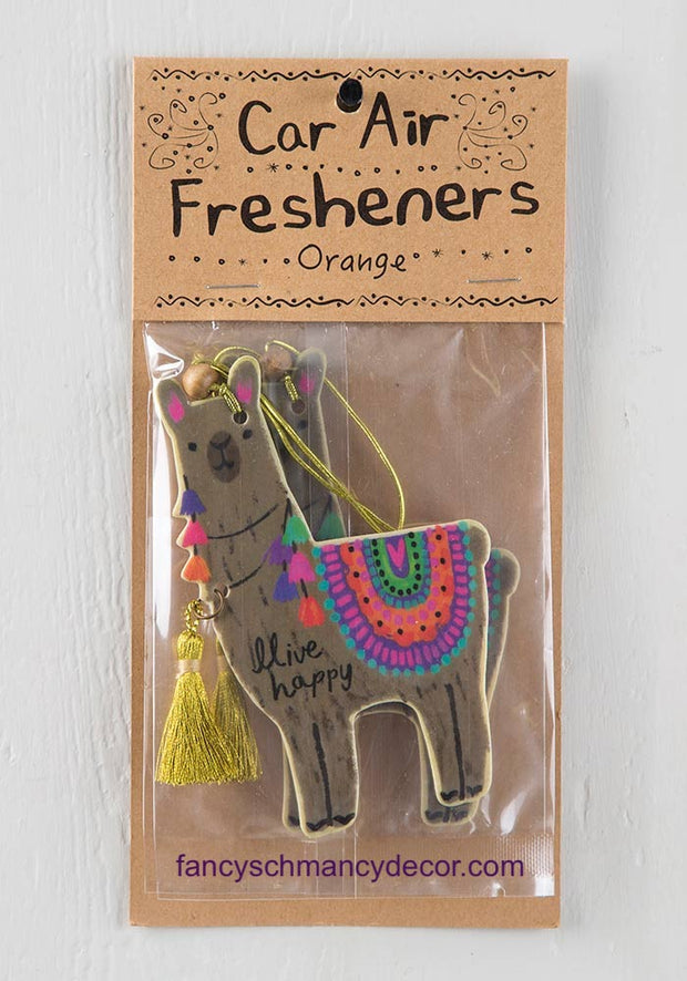 Llama Air Freshener by Natural Life