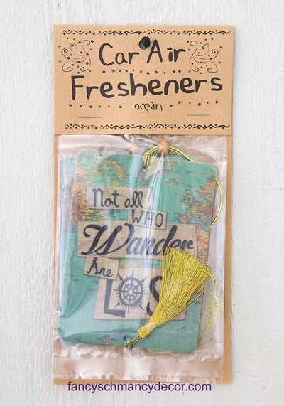 Not All Who Wander Air Freshener by Natural Life