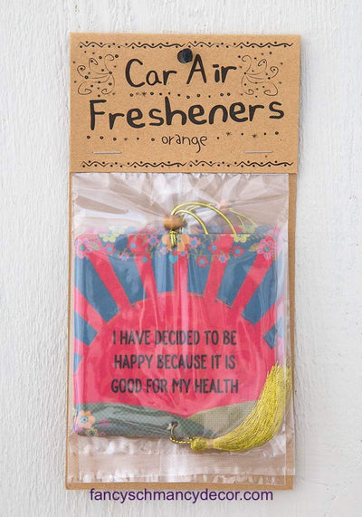 Decide to Be Happy Air Freshener by Natural Life