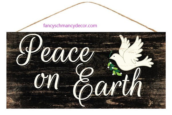 Peace on Earth Sign by Craig Bachman Imports