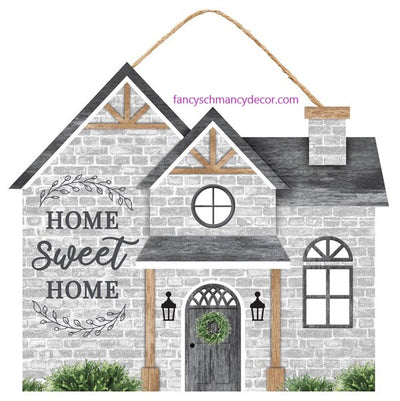 "11.25""L X 9.75""H Home Sweet Home House"