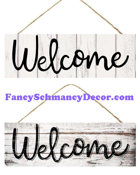 "15"" L X 5"" H Welcome Sign"