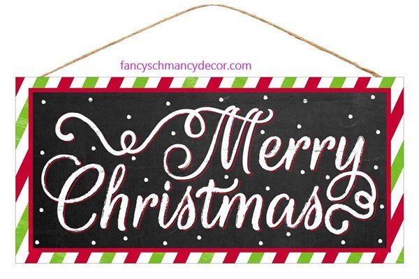 Merry Christmas Sign by Craig Bachman Imports