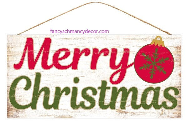 Rustic Merry Christmas Sign by Craig Bachman Imports