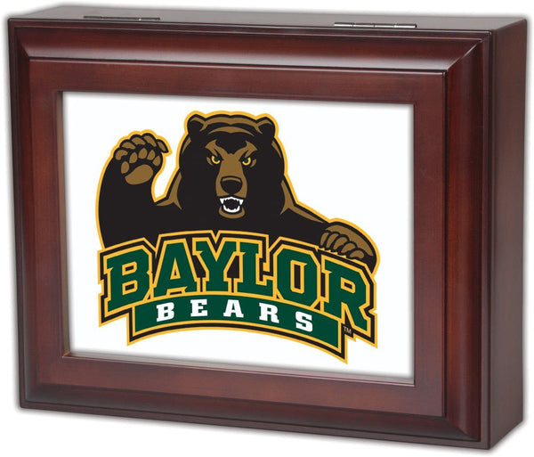 Baylor University - Bears Musical Jewelry Valet Box by Cottage Garden - FancySchmancyDecor - 1