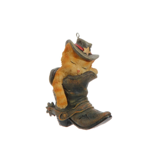 Raz Imports Cat in Boot Ornament