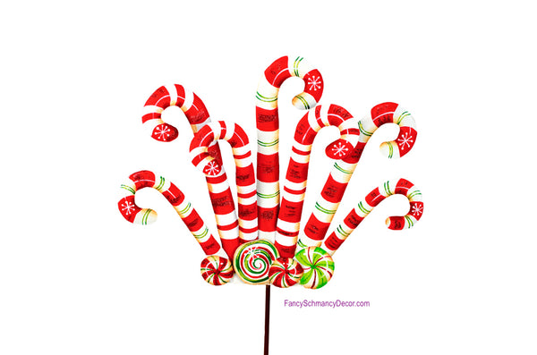 Pile of Candy Canes The Round Top Collection C16035
