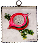 Vintage Pink Ornament Signs