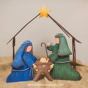 Table Top Nativity: Holy Family by The Round Top Collection