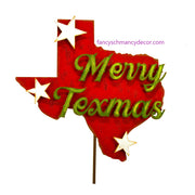 Merry Texmas Stake by The Round Top Collection