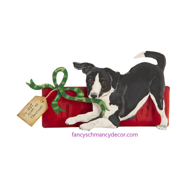 Merry Mutt with Package by The Round Top Collection