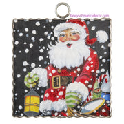 Mini Christmas Eve Santa Print by The Round Top Collection