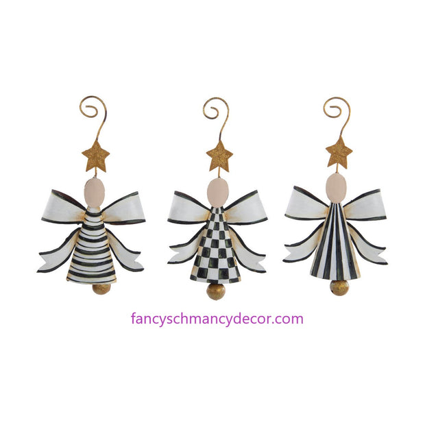Elegant Angel Bells Assorted Set of 3 by The Round Top Collection