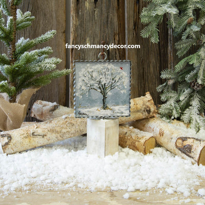 Mini Tree of the Season (Winter) Print by The Round Top Collection
