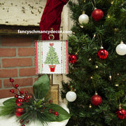 Mini Holiday Topiary Print by The Round Top Collection